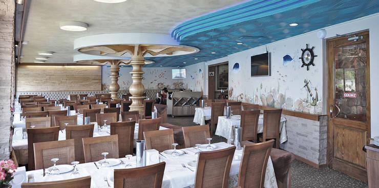 Bilgece Tasarım – Canlı Balık Restorant:  tarz Yeme & İçme, Modern