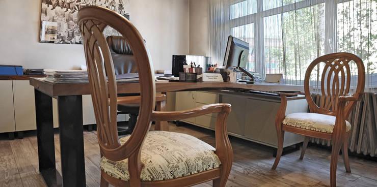 Bilgece Tasarım – Ülkü & Fahrettin Çıtak Ofis:  tarz Ofis Alanları, Modern
