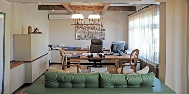 Bilgece Tasarım – Ülkü & Fahrettin Çıtak Ofis:  tarz Ofis Alanları