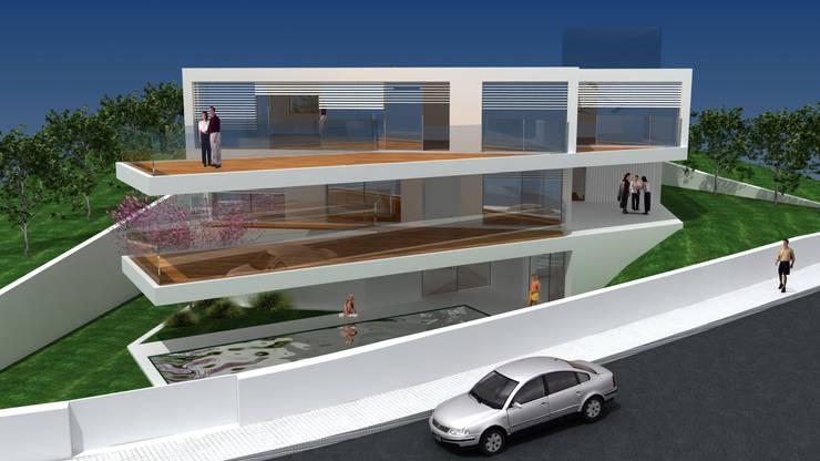 MORADIA CRUZ QUEBRADA:   por GLO - Global Architecture Office, Lda
