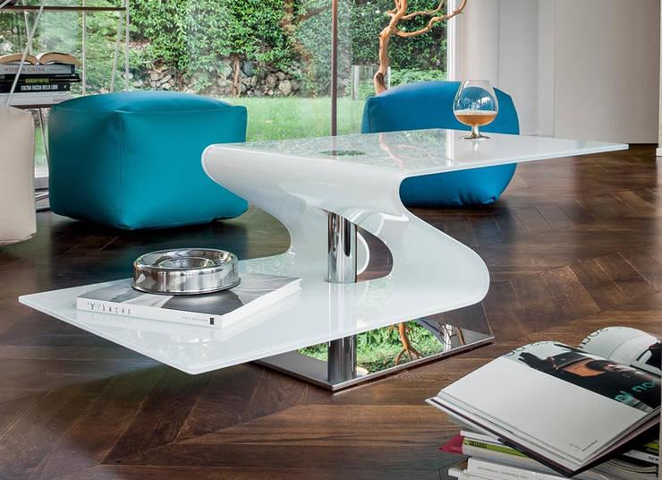 Livings de estilo moderno por MUEBLES OYAGA