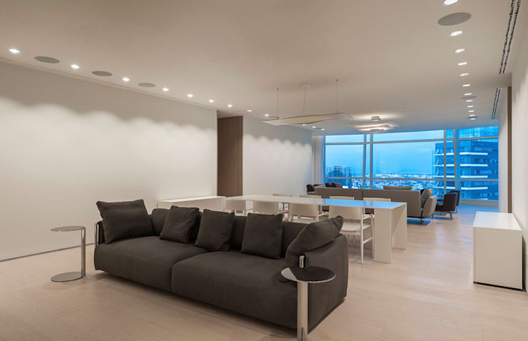 ST. REGIS 2301: Salas multimedia de estilo  por TENTER Arquitectura y Diseño