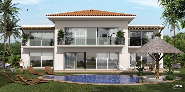 Casa Playa: Casas de estilo  por ESTUDIO 275 ARQUITECTURA