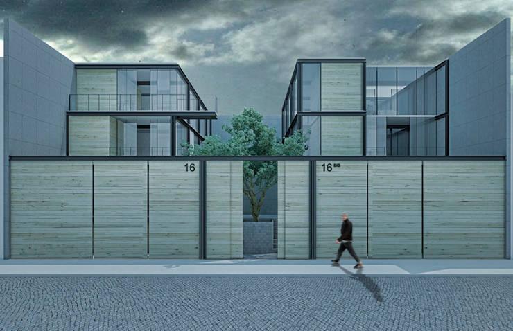 CASAS BIS:  de estilo  por TENTER Arquitectura y Diseño