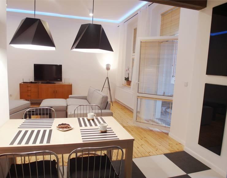 Kasia & Arek kuchnia: styl , w kategorii Kuchnia zaprojektowany przez NaNovo