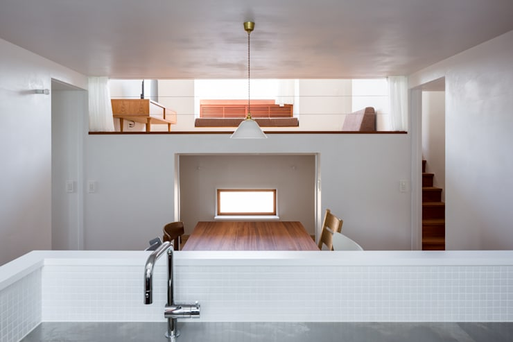 吉田夏雄建築設計事務所의  다이닝 룸