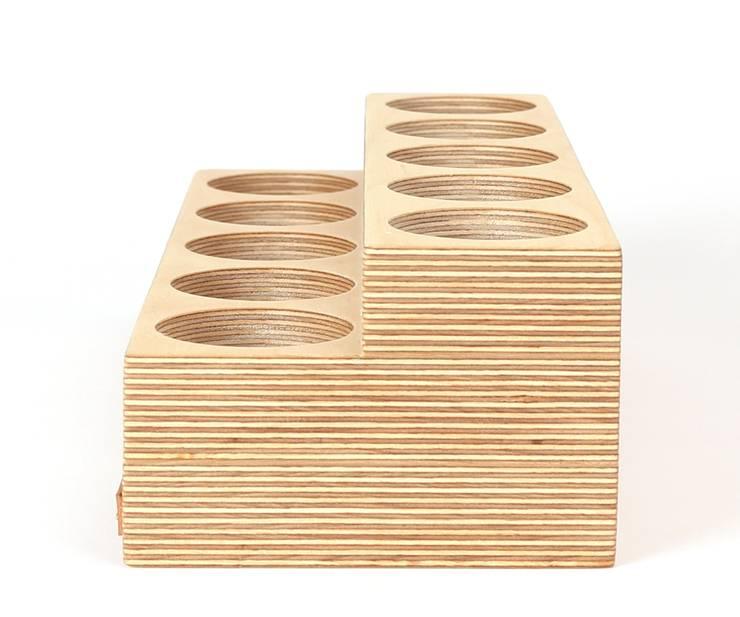 색연필꽂이 Grande: Orange Wood의
