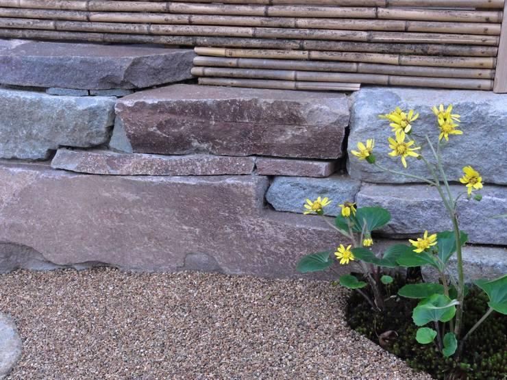 小端積み: 木村博明 株式会社木村グリーンガーデナーが手掛けた庭です。