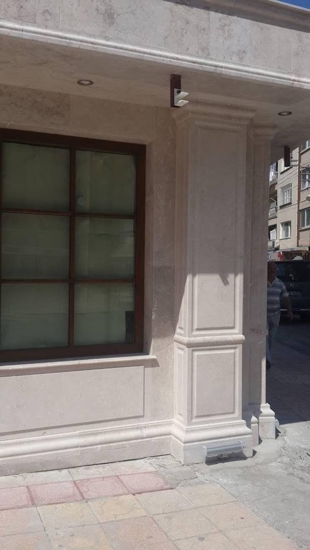 aksoy tasarım – Aksoy Taş Tasarım:  tarz Duvar & Zemin