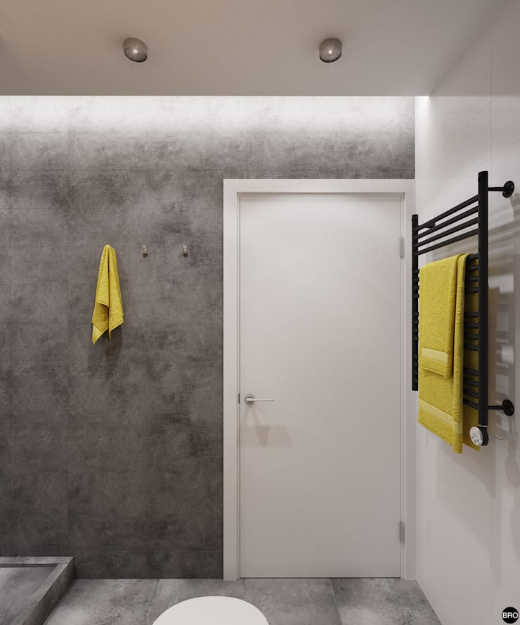 Ванные комнаты в . Автор – BRO Design Studio