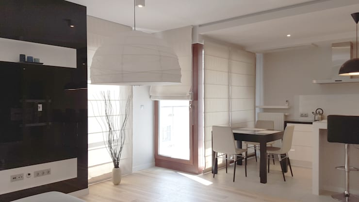 Spokojny apartament na Pańskiej w Warszawie: styl , w kategorii Salon zaprojektowany przez Project Art Joanna Grudzińska-Lipowska,Nowoczesny