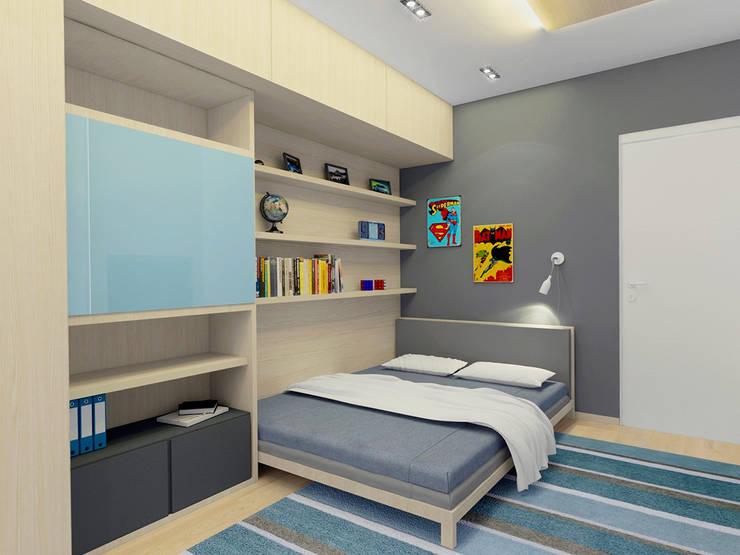 Детская: Детские комнаты в . Автор – Архитектурная мастерская 'SOWA',