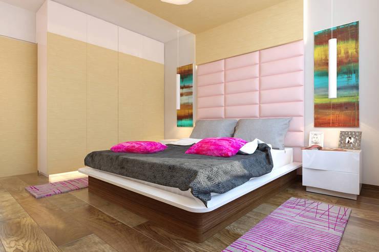 спальня: Спальни в . Автор – Архитектурная мастерская 'SOWA'