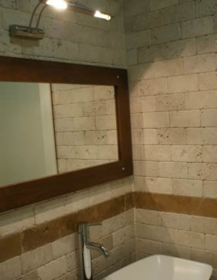 Afşaroglu – İç Mekan Eskitmeleri:  tarz Banyo, Modern