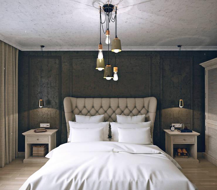 Projekty,  Sypialnia zaprojektowane przez VB-Design