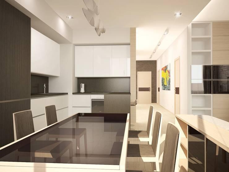 Авеню 77-2: Кухни в . Автор – ООО 'Студио-ТА'