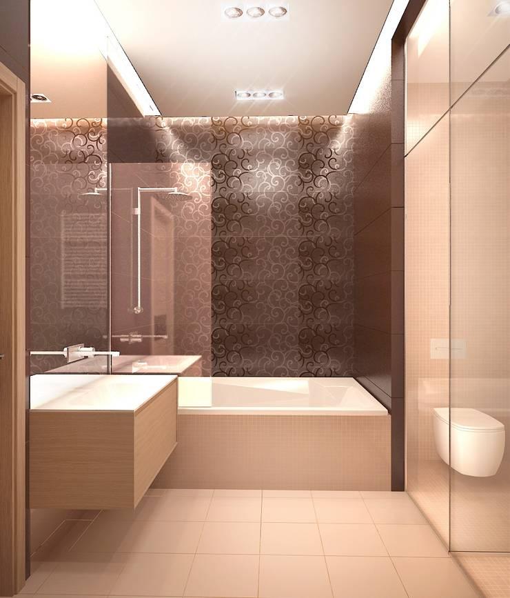 Авеню 77-2: Ванные комнаты в . Автор – ООО 'Студио-ТА'