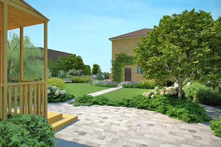 Дизайн сада в пейзажном стиле.: Сады в . Автор – Руслан Михайлов rmgarden