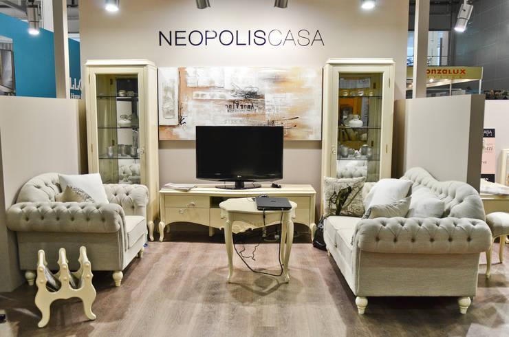 Гостиная Brevio Salotti: Гостиная в . Автор – Neopolis Casa