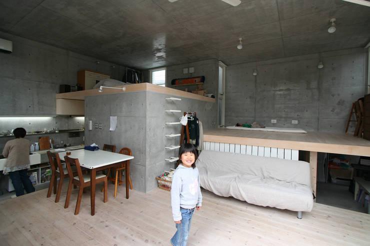 Projekty,  Salon zaprojektowane przez STUDIO POH