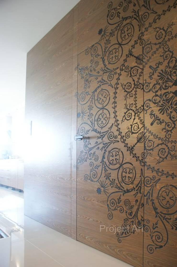 de style  par Project Art Joanna Grudzińska-Lipowska, Moderne Bois Effet bois