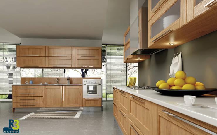 Cocinas de estilo moderno por ALVIC