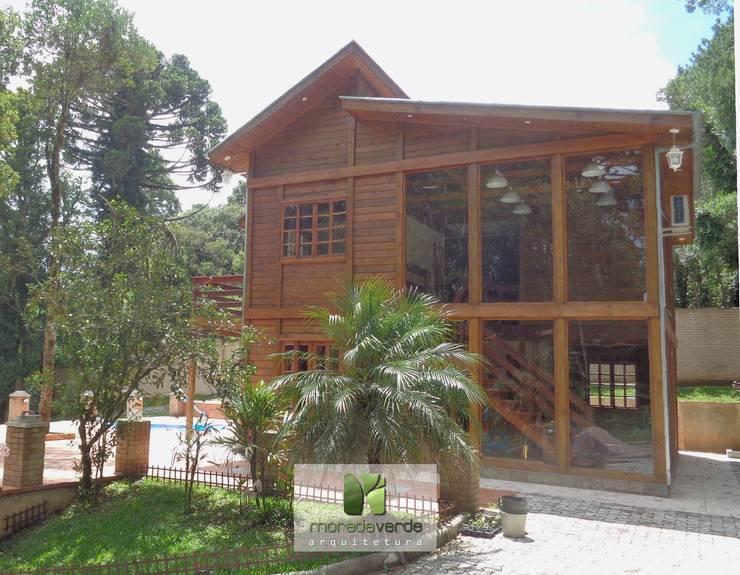 Casas campestres por Moradaverde Arquitetura