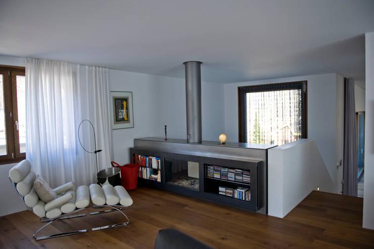 Projekty,  Salon zaprojektowane przez bw1 architekten