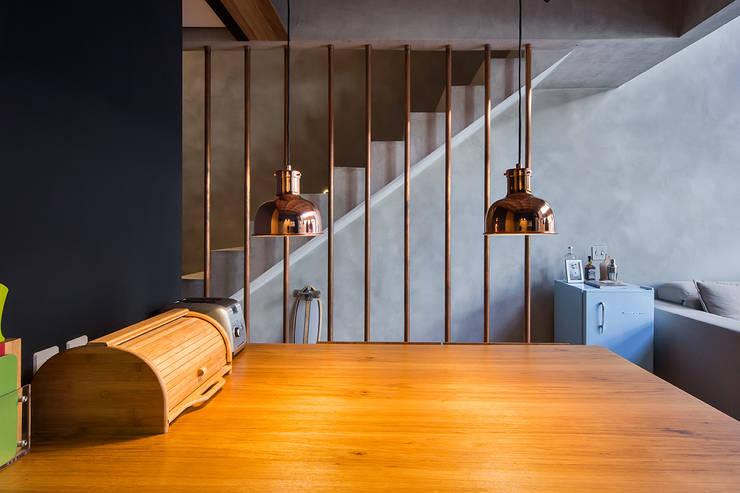 Столовые комнаты в . Автор – Casa100 Arquitetura, Модерн