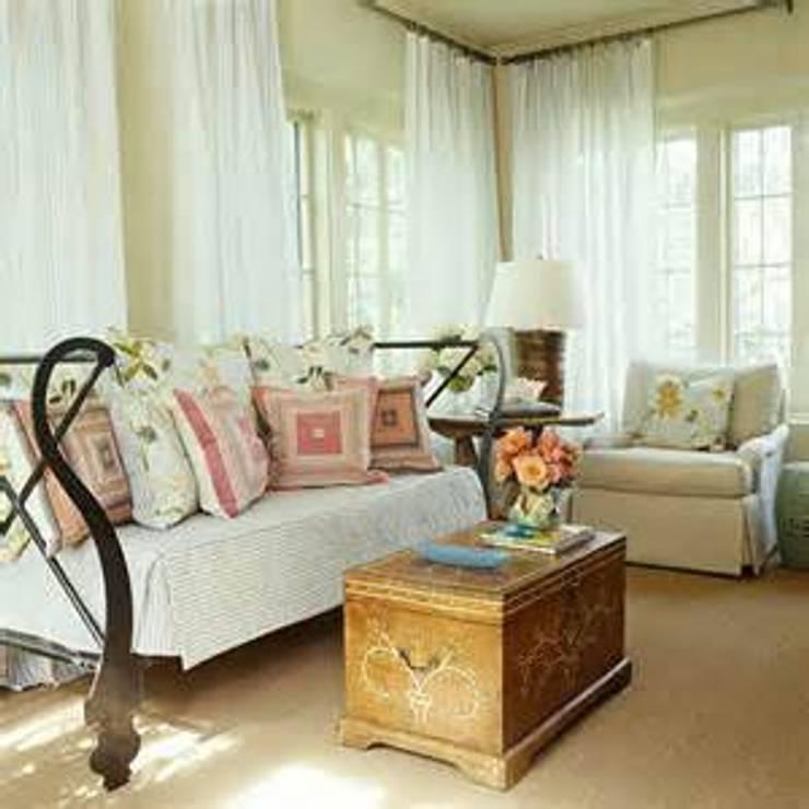 CORTINAS Y LAMBREQUINES:  de estilo  por persianas y cortinas milan