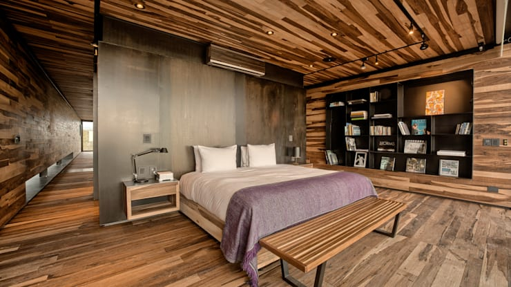 Projekty,  Sypialnia zaprojektowane przez A4estudio