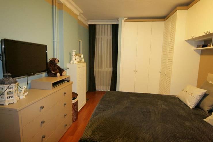 Hilal Tasarım Mobilya – Dolap Modelleri:  tarz Yatak Odası