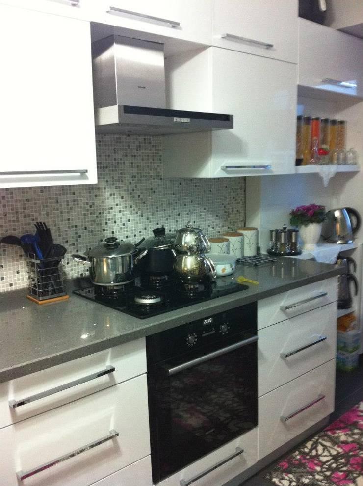 Hilal Tasarım Mobilya – Mutfak:  tarz Mutfak, Modern