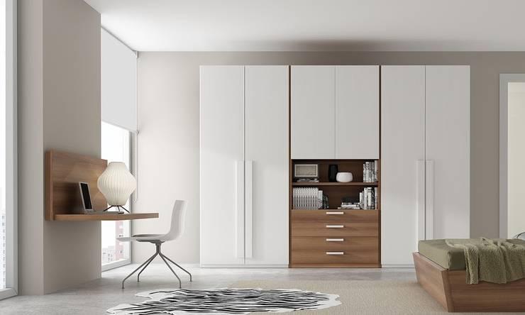 ARMARIOS: Dormitorios de estilo moderno de MUEBLES OYAGA