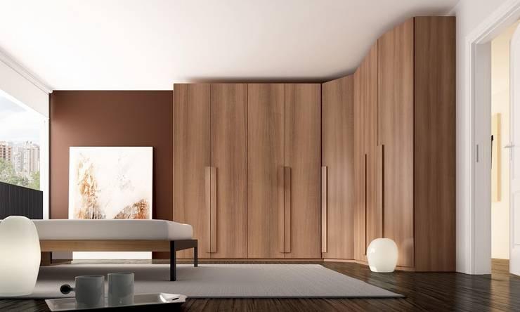 Camera da letto in stile  di MUEBLES OYAGA