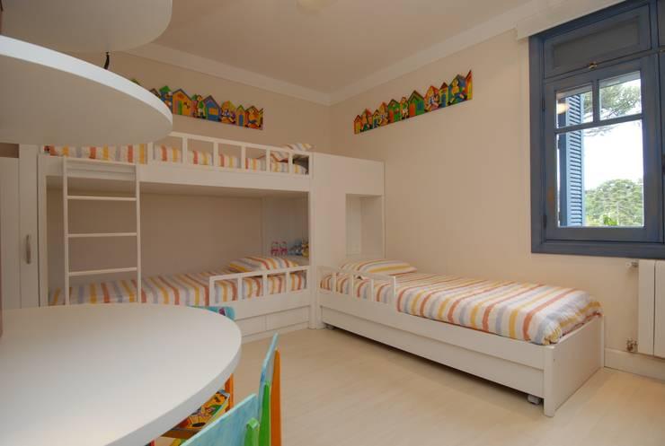 Habitaciones infantiles de estilo  por Finkelstein Arquitetos