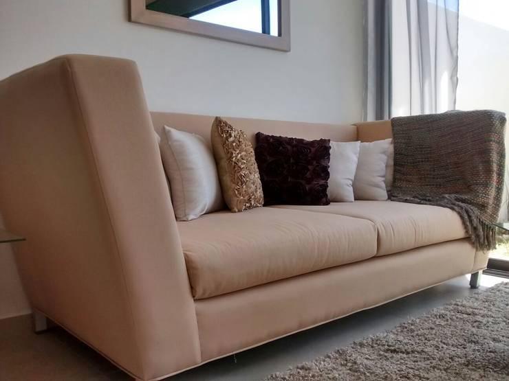 Sala - Lennor: Salas de estilo  por Bianco  Diseño