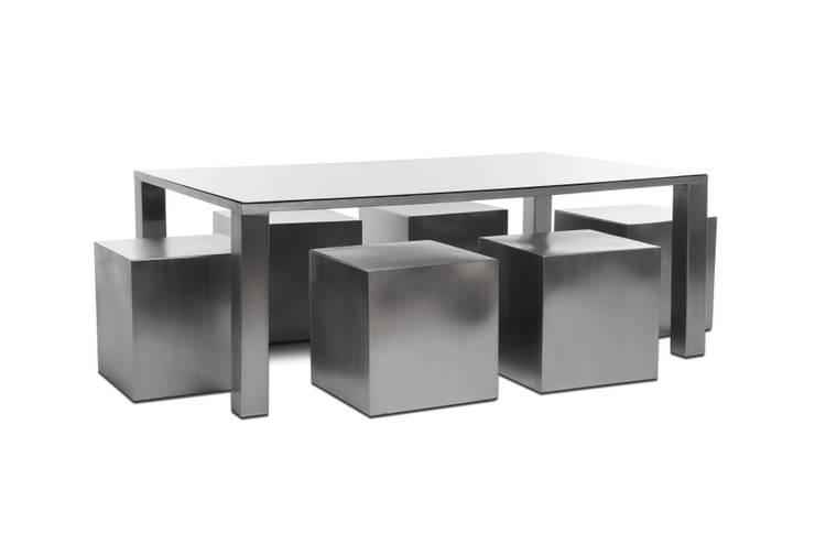 Mesa comedor Zoé de Etienne Design Minimalista Metal