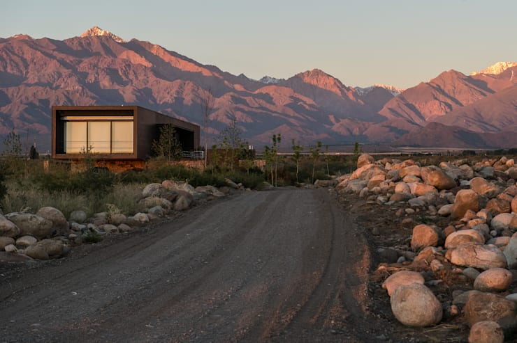 Casa Evans: Casas de estilo  por A4estudio