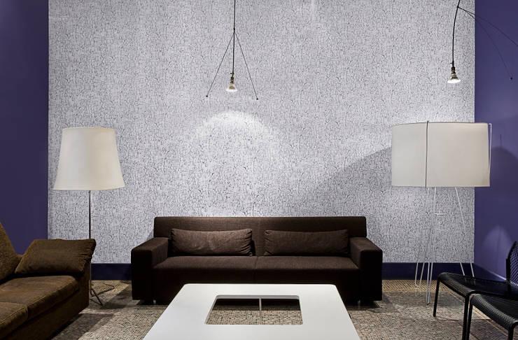 tres tintas barcelona hiszpa skie tapety i murale von homify. Black Bedroom Furniture Sets. Home Design Ideas
