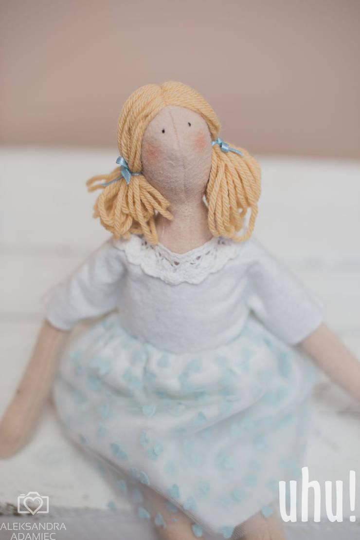 Amelka lala: styl , w kategorii Pokój dziecięcy zaprojektowany przez uhu!