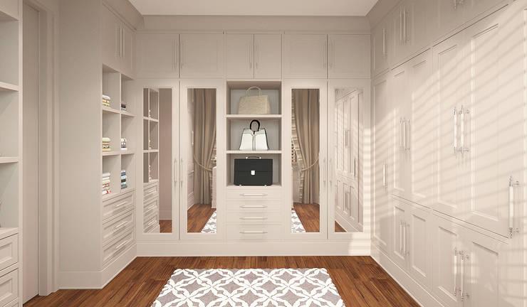 غرفة الملابس تنفيذ FAMM DESIGN
