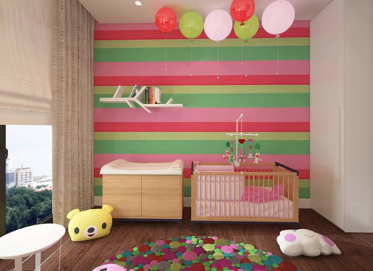 Chambre d'enfant de style de style Minimaliste par FAMM DESIGN