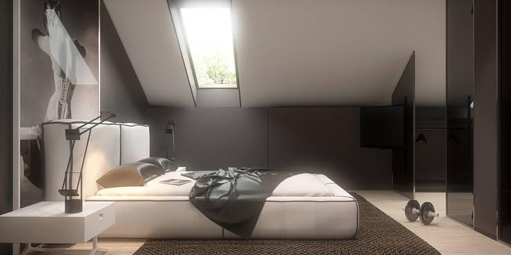 Habitaciones de estilo  por FAMM DESIGN