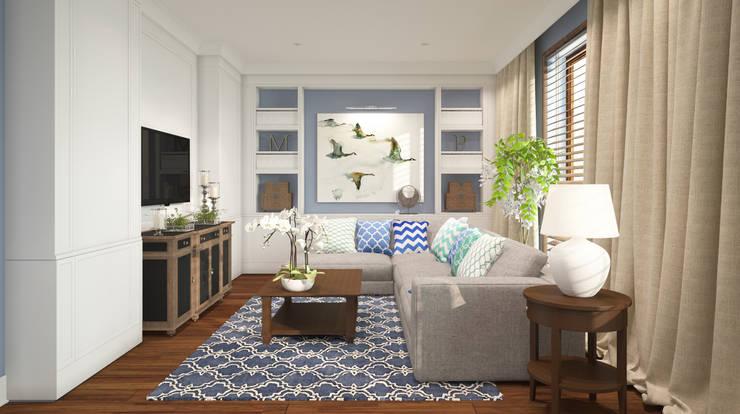 Salas / recibidores de estilo  por FAMM DESIGN