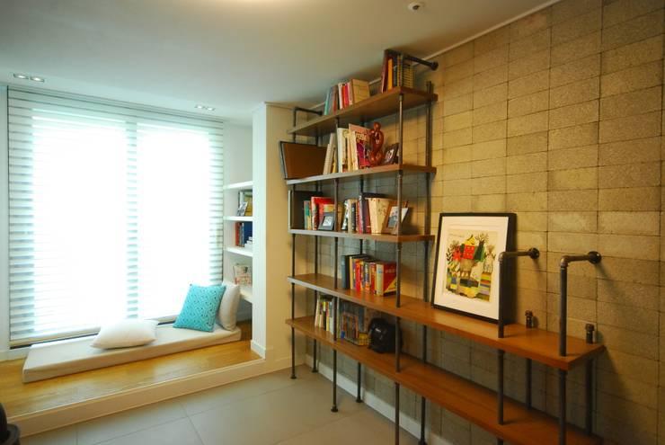 Estudios y despachos de estilo moderno por (주)바오미다