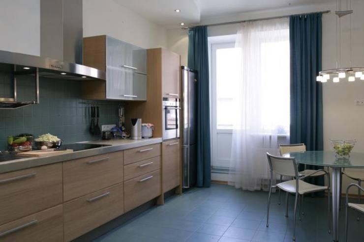minimalistic Kitchen by интерьеры от частного дизайнера