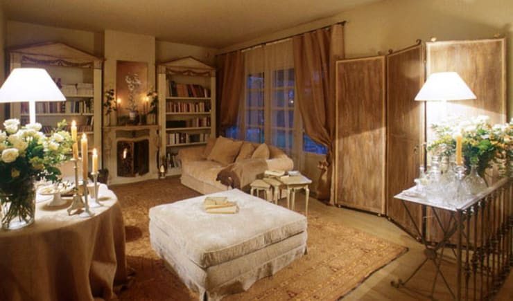 Livings de estilo rústico por Anna Paghera s.r.l. - Interior Design