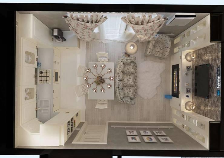 Коттедж 150 кв.м. в Энгельсе, Волжский проспект:  в . Автор – hq-design,