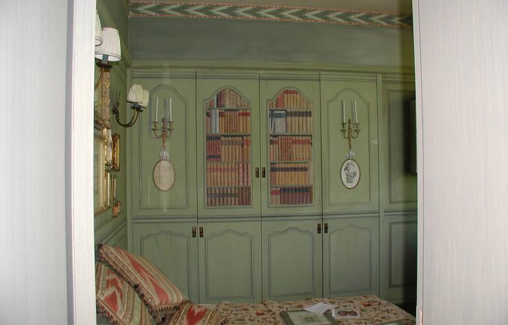 Spirito Country: Camera da letto in stile In stile Country di Anna Paghera s.r.l. - Interior Design